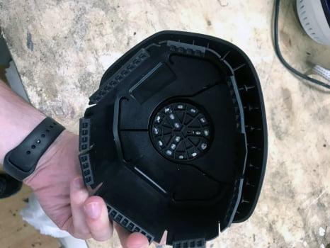Mercedes-Benz ML AMG. Перетяжка руля с клаксоном_3