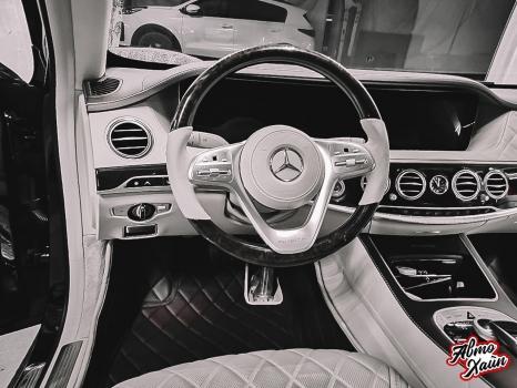 Mercedes-Maybach. Пошив 3D ковриков_2