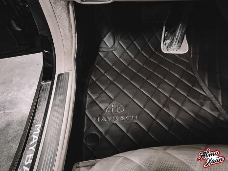 Mercedes-Maybach. Пошив 3D ковриков_3