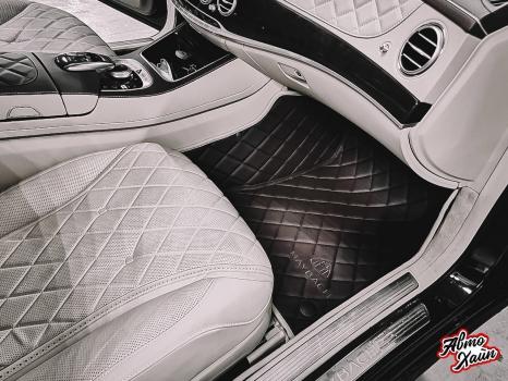 Mercedes-Maybach. Пошив 3D ковриков_4