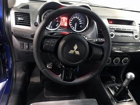 Mitsubishi Lancer Evolution 10. Перетяжка руля_3