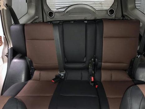 Mitsubishi Pajero. Перетяжка салона_7