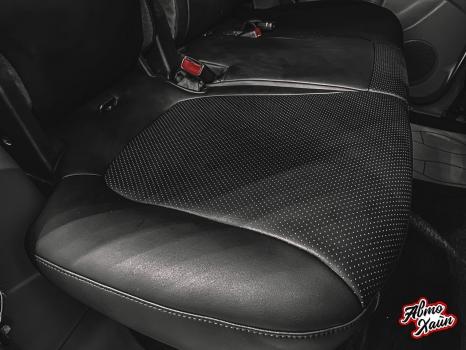 Mitsubishi Pajero. Перетяжка салона, антихром_5