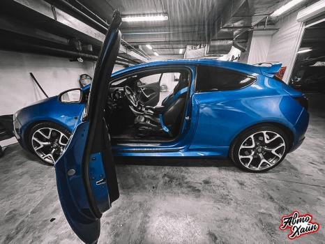 Opel Astra OPC. Замена ремней безопасности_2
