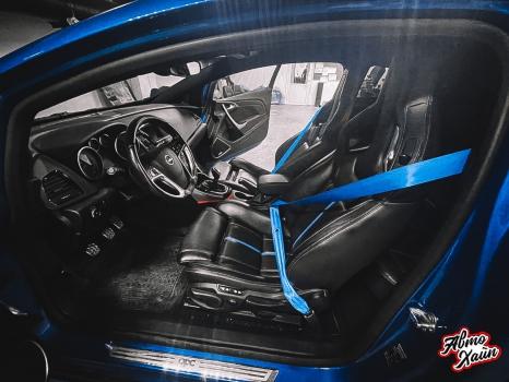 Opel Astra OPC. Замена ремней безопасности_3