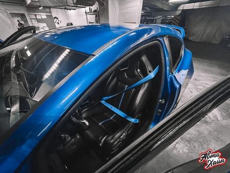 Opel Astra OPC. Замена ремней безопасности_5