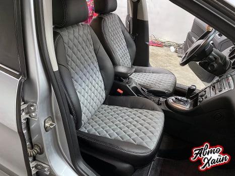 Peugeot 407, Пошив каркасных чехлов и автоковриков _2