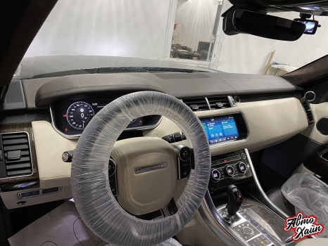 Range Rover Sport. Перетяжка руля_1