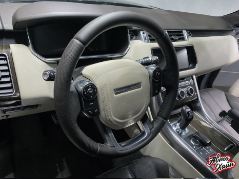 Range Rover Sport. Перетяжка руля_2