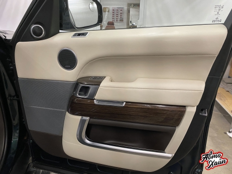 Range Rover Sport. Перетяжка руля_5