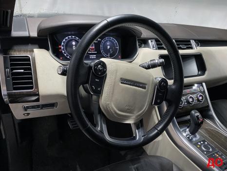 Range Rover Sport. Перетяжка руля_8