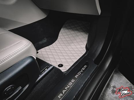 Range Rover Velar. Пошив ковриков _5