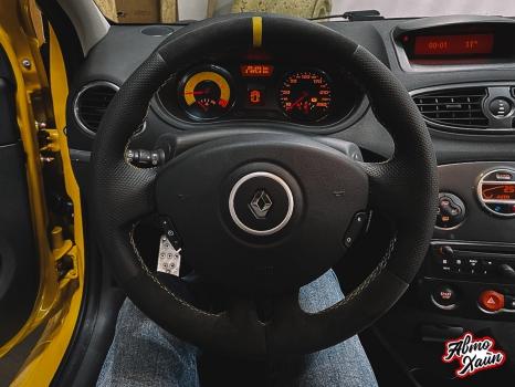 Renault Clio RS. Перетяжка руля_2