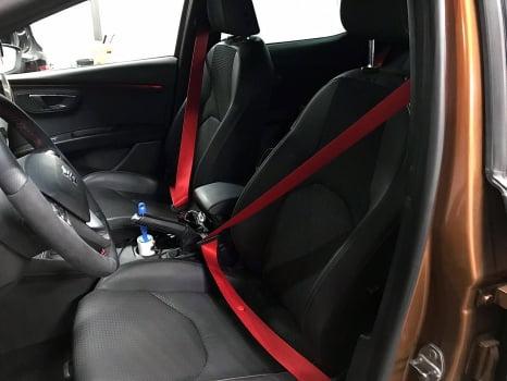 Seat Leon перетяжка руля_2