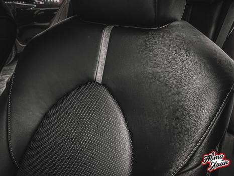 Toyota Camry. Перетяжка салона_7