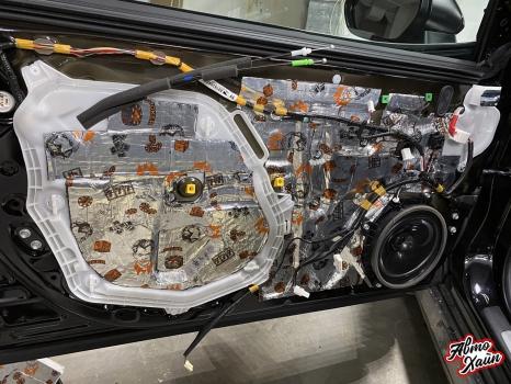Toyota Camry. Шумоизоляция дверей_5