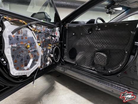 Toyota Camry. Шумоизоляция дверей_6