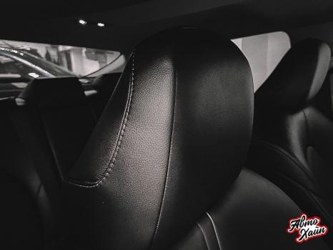 Toyota Camry XV70. Перетяжка сидений_4