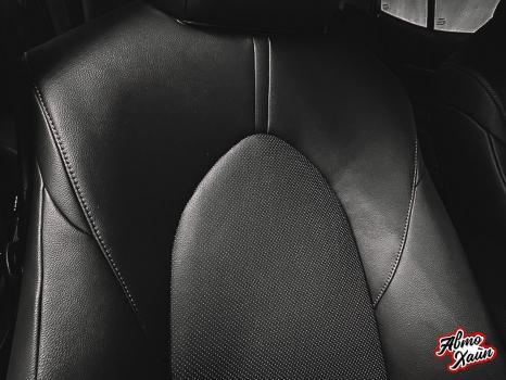 Toyota Camry XV70. Перетяжка сидений_6