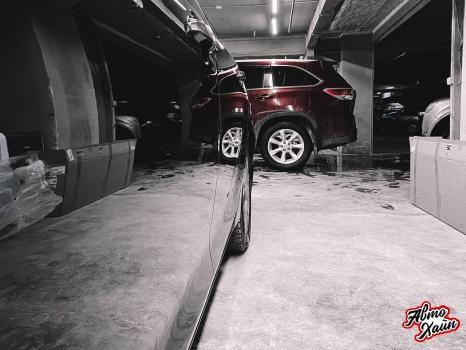 Toyota Camry XV70. Полировка кузова _2
