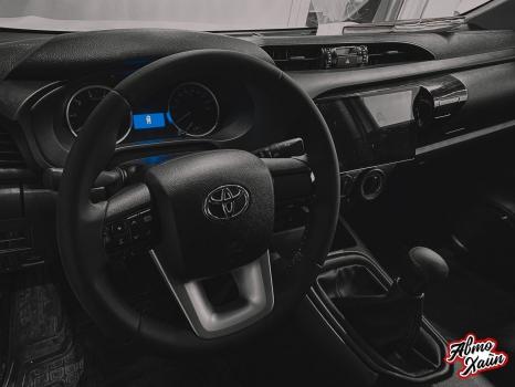 Toyota Hilux. Перетяжка салона_2