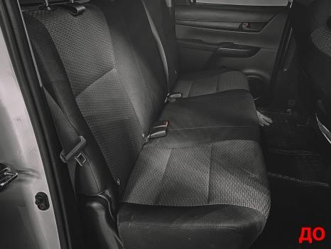 Toyota Hilux. Перетяжка салона_6