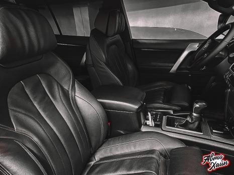 Toyota Land Cruiser Prado 150. Перетяжка заднего дивана_3