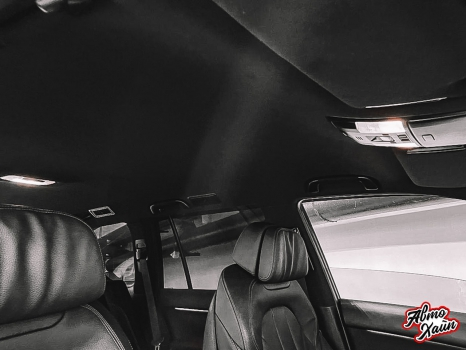 Toyota Land Cruiser Prado 150. Перетяжка заднего дивана_7