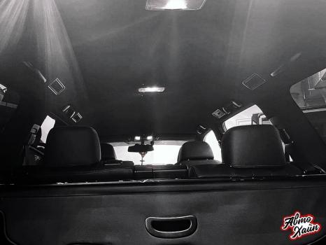 Toyota Land Cruiser Prado 150. Перетяжка заднего дивана_8