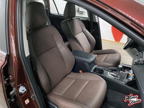 Toyota RAV4. Перетяжка сидений_2