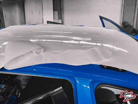 Toyota RAV4. Керамика, оклейка пленкой_7