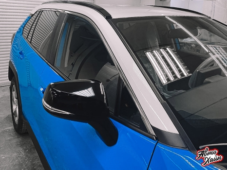 Toyota RAV4. Керамика, оклейка пленкой_9