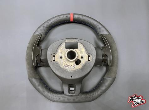 Volkswagen Golf R. Перетяжка руля_5