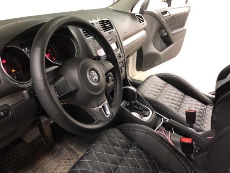 Volkswagen Golf. Пошив салона_3