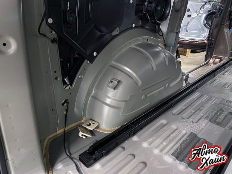 Volkswagen Multivan. Комплексная шумоизоляция _4