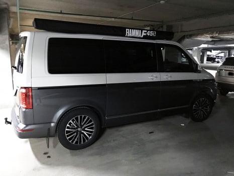 Volkswagen Multivan винилография_3