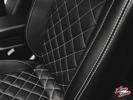 Volkswagen Teramont. Перетяжка салона, установка обогрева сидений_2