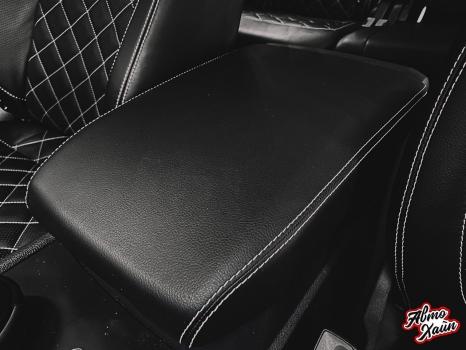 Volkswagen Teramont. Перетяжка салона, установка обогрева сидений_4