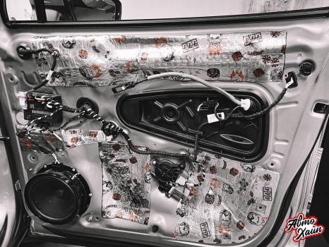 Volkswagen Tiguan. Шумоизоляция дверей _5