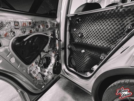 Volkswagen Tiguan. Шумоизоляция дверей _6