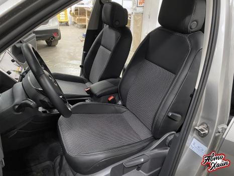 Volkswagen Tiguan. Перетяжка сидений_2