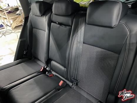 Volkswagen Tiguan. Перетяжка сидений_3