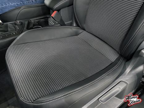 Volkswagen Tiguan. Перетяжка сидений_4