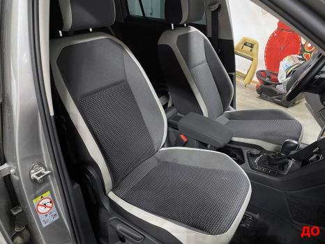 Volkswagen Tiguan. Перетяжка сидений_7