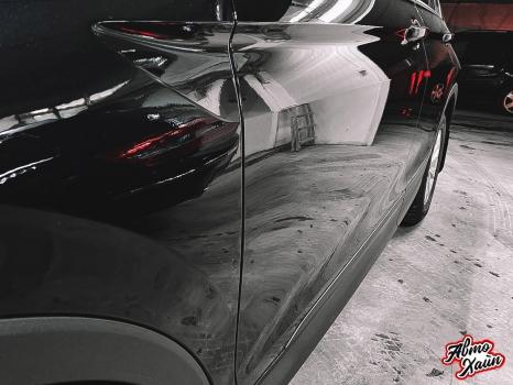 Volkswagen Tiguan. Перетяжка сидений, защита ЛКП_1