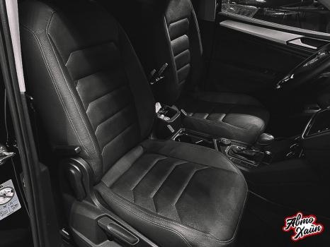 Volkswagen Tiguan. Перетяжка сидений, защита ЛКП_2