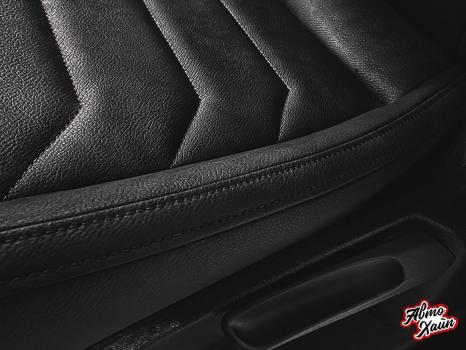 Volkswagen Tiguan. Перетяжка сидений, защита ЛКП_4