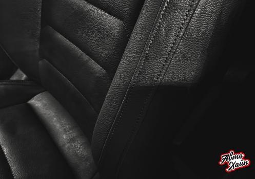 Volkswagen Tiguan. Перетяжка сидений, защита ЛКП_5