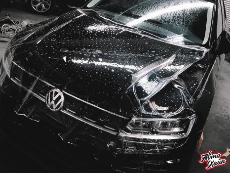 Volkswagen Tiguan. Перетяжка сидений, защита ЛКП_8
