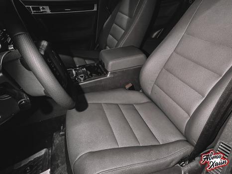 Volkswagen Touareg. Перетяжка салона_2
